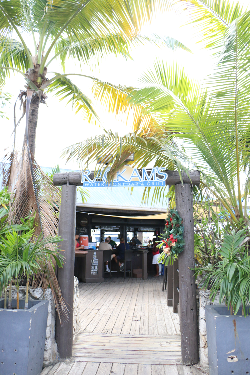 Entry to the restaurant